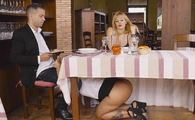 This Restoran Has a Really Special Service Under the Table