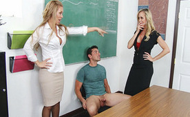 Two Teachers Joining Their Forces Because He Is A Very Bad Student