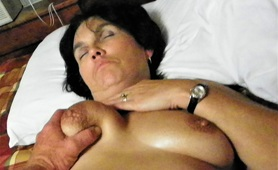Mature Wife Drunk and Naked Laid Down Ready to be Fucked