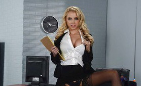 My Blonde Naughty Professor Of Chemistry