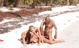 Lucky Guy on his Dream Holiday Fucked Horny Tanned Chicks in a Tropical Paradise