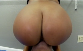 Ebony Big Ass Audition Success