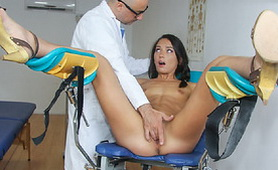 A School Gynecologist Knows How To Keep His Girls Innocence