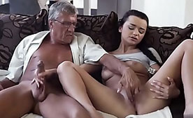 Oh Grandpa Put Your Strong Penis Inside Me! - Immoral Love