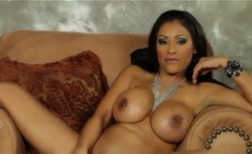 Priya Rai Busty Indian MILF - Big Dildo Game