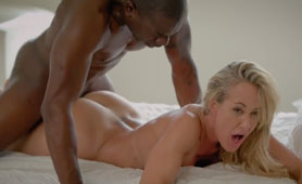 Hot MILF Brandi Love Maybe is too Old for Fucking with Big Black Dick