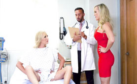Doctor Hides the Cure for These Hot Nymphs Under His Uniform