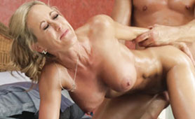 Big Titted GFs Mom Maybe is Too Old for My Cock