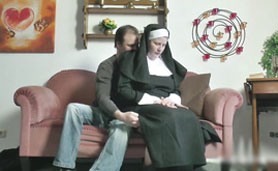 Sutty German Nun Not So Religious After Church Mass