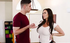 Stepmom Kendra Lust Can't Careful Listen to Him, When is Only in Her Head His Cock
