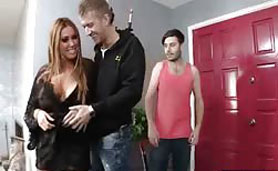 Busty Friends Mom's Hungry for Fresh Meat