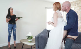 Redhead Milf Would Love to Try Another Big Dick on Her Wedding Day