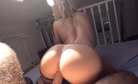 Hottest Ass Ever Keeps Big Cock in Her Wet Cunt