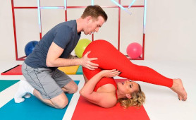 Sensual Blonde Angel Phoenix Marie Fucked By Her Personal Trainer