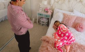 StepChild Gets Creampied By Horny Dad