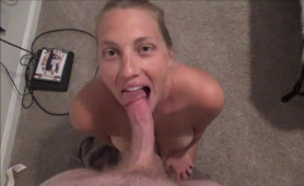 High and Horny MILF Cougar Sucks Cock And Gets Fucked